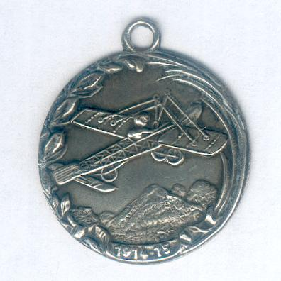 Medal for the Air Force (Médaille de l'Armée de l'Air), 1914-15