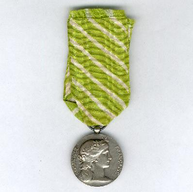 Medal of Honour for Local Government Employees, silver (Médaille des Employés Communaux en argent)
