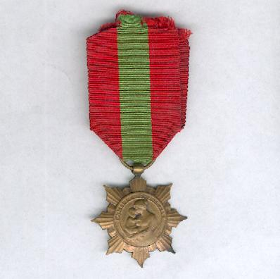 Medal for the French Family, bronze (Médaille de bronze de la Famille Française)