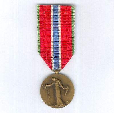 Medal for Civilian Prisoners, Deportees and Hostages of the Great War (Médaille des Prisonniers Civils, Déportés et Otages de la Grande Guerre), 1914-1918