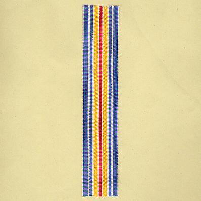 FRANCE. Ribbon for the Medal for the Military Wounded (Coup de ruban pour la Médaille des Blessés Militaire)