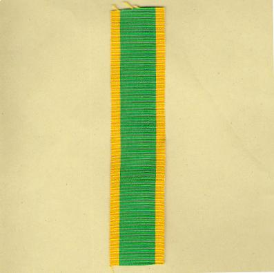 FRANCE. Ribbon for the Medal for Volunteers (Coup de ruban pour la Médaille des Engagées Volontaires)