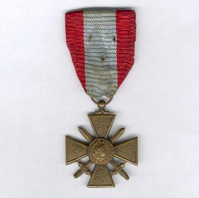 War Cross for Exterior Theatres of Operation (Croix de Guerre des Th��tres d�Op�rations Ext�rieurs)