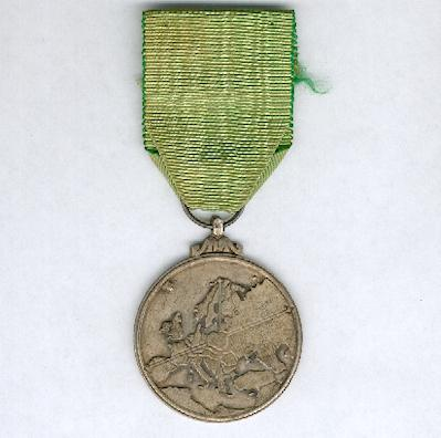 European Medal of the Federation of Allied Combatants of Europe, II class (Médaille Européenne de la Fédération des Combattants Alliés en Europe, IIème classe)