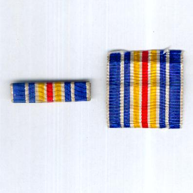 FRANCE. Ribbon Bar for the Medal for the Military Wounded (Rappel de la Médaille des Blessés Militaire)