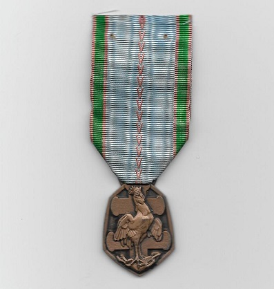 Medal Commemorative of the War of 1939-1945 (Médaille Commémorative de la Guerre de 1939-1945)