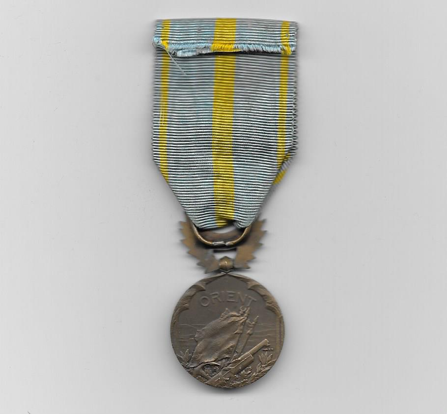 Medal for the East (Médaille d'Orient) - Salonika Campaign 1915-1918