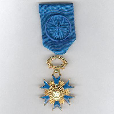 National Order of Merit, officer (Ordre National du Mérite, officier)