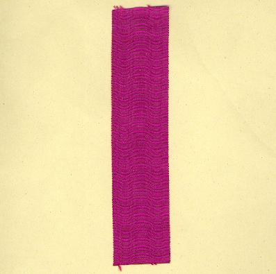 FRANCE. Ribbon for the Order of the Academic Palms (Coup de ruban pour l'Ordre des Palmes Academiques)