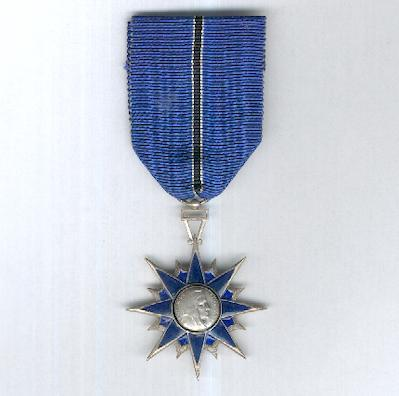 Order of Civil Merit, knight (Ordre du Mérite Civil, chevalier), awarded 1957 to 1963
