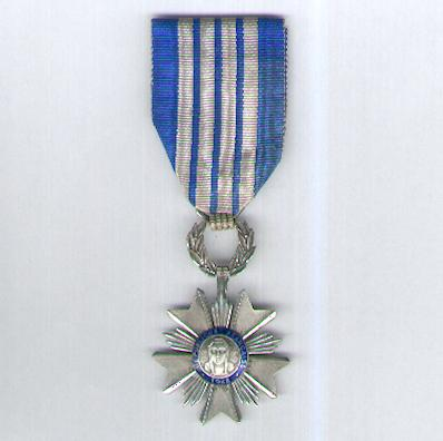 Order of Artisan Merit, knight (Ordre de Mérite Artisanal, chevalier) by Adrien Chobillon, Paris