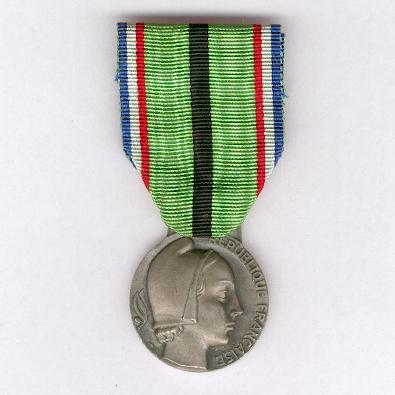 Medal for the Proscribed Patriot (Médaille du Patriot Proscrit), 1939-1945