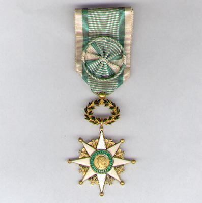 Cross of Honour for Social Recognition, officer (Croix d'Honneur de la Reconnaissance Sociale, officier)