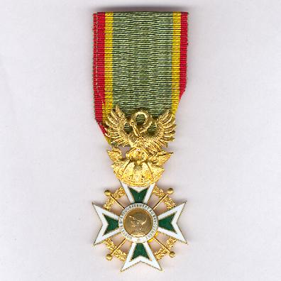 Cross of Honour of the Society for the Encouragement of Devotion to Service (Croix d'Honneur de la Société d'Encouragement au Devouement)