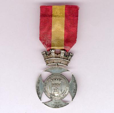 COGNAC.  Medal of Honour of the Society of Decorated Life Savers of Cognac, Charente (Médaille d'Honneur de la Société des Sauveteurs Médaillés de Cognac, Charente)