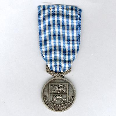 DUNKIRK.  Medal for the Third Centenary of the Return of Dunkirk to France (Médaille Tricentenaire du Rattachement de Dunquerque à la France), 1962