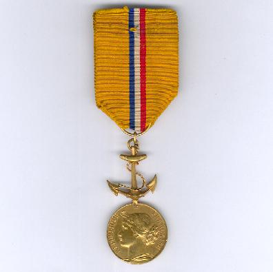 FRANCE.  Medal of Honour of the National Society of Life Saving (Médaille d'Honneur de la Société Nationale de Sauvetage)