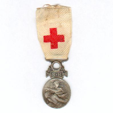 Medal of the French Society for the Aid of Wounded Military (Médaille de la Société Française de Secours aux Blessés Militaires), 1864 to 1866