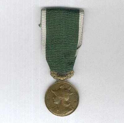 PARIS.  Medal of Honour of 'The Knights of Duty', bronze (Médaille d'Honneur de la Société «Les Chevaliers du Devoir» en bronze)