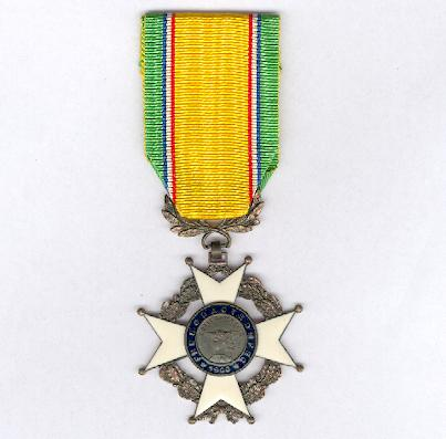 Cross of Merit of the National Federation of Non-Commissioned Officers of the Army and Navy of France and Colonies (Croix du Mérite de la Fédération Nationale des Sous-Officiers des Armées de Terre et de Mer France et Colonies)