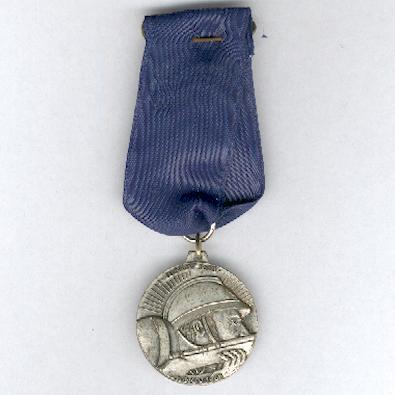 Medal Commemorative of the 50th Anniversary of the Great War (Médaille Commémorative de la 50ème Anniversaire de la Grande Guerre), 1968, Yvelines