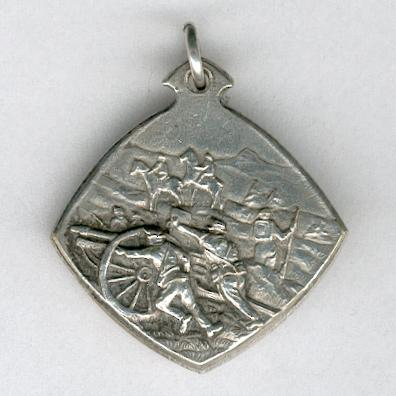 Frontier Occupation Medal (Médaille de l'Occupation des Frontieres / Grenzbesetzung Medaille), 1914