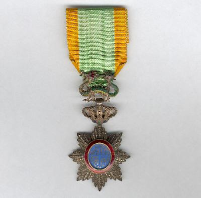 ANNAM.  Imperial Order of the Dragon of Annam, knight (Ordre Impérial du Dragon de l'Annam, chevalier)