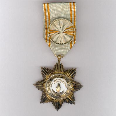 COMOROS.  Royal Order of the Star of Anjouan, officer (Ordre Royal de l'Etoile d'Anjouan, officier)