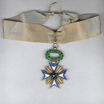 BENIN.  Order of the Black Star, commander (Ordre de l'Etoile Noire, commandeur)