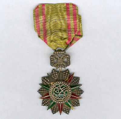 TUNIS.  Order of Nichan Iftikhar, knight, Muhammad V an-Nasir issue (1906-22)