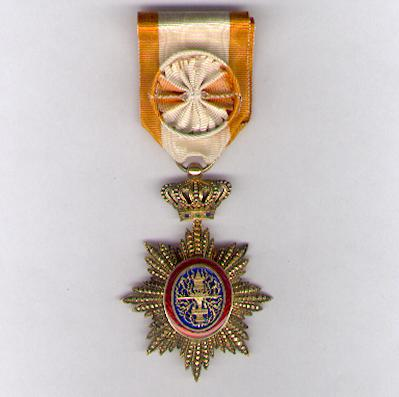 CAMBODIA.  Royal Order of Cambodia, officer (Ordre Royal du Cambodge, officier), 1899-1948 issue, by Boullanger of Paris
