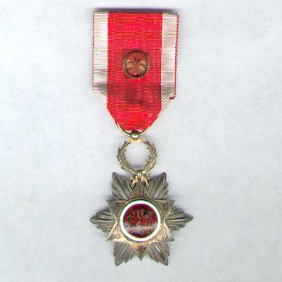MOROCCO. Order of Ouissam Hafidien, officer (Ordre de l'Ouissam Hafidien, officier), 1910-1913 issue