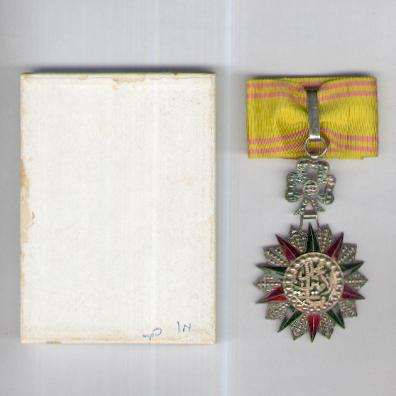 TUNIS. Order of Nichan Iftikhar, commander, Muhammad VIII al-Amin issue, 1942-1957, French manufacture by Arthus Bertrand of Paris, in box of issue