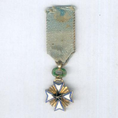 Order of the Black Star, knight (Ordre de l'Etoile Noire, chevalier), miniature