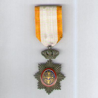 CAMBODIA. Royal Order of Cambodia, knight (Ordre Royal du Cambodge, chevalier), 1899-1948 issue