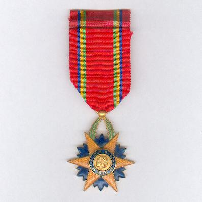 Order of the Equatorial Star, knight (Ordre de l'Etoile Equatorial, chevalier)