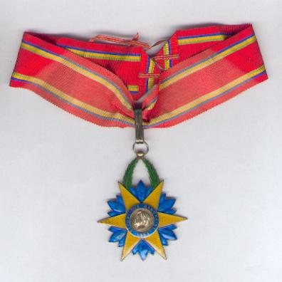 Order of the Equatorial Star, commander (Ordre de l'Etoile Equatorial, commandeur) by Arthus Bertrand, Paris