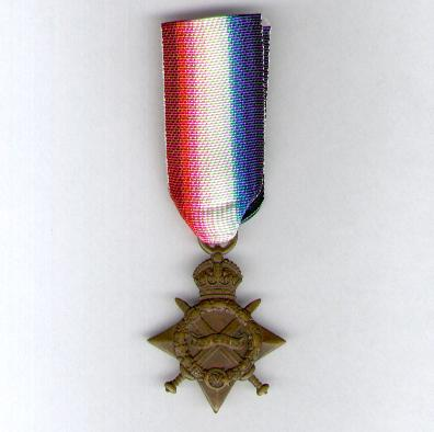 1914-15 Star, attributed to 56849 Gunner P. H. Havill, Royal Garrison Artillery