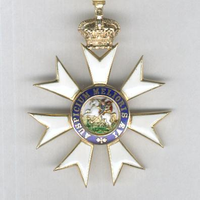 The Most Distinguished Order of Saint Michael and Saint George, Companion (C.M.G.), by R. & S.Garrard & Co. of London, in original case of issue, before 1909