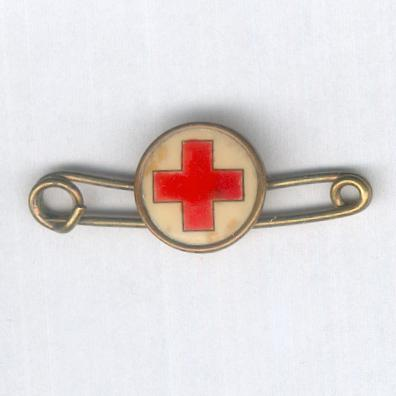 British Red Cross Society, early Membership Badge