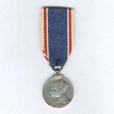 Coronation Medal 1937, silver, unnamed as issued