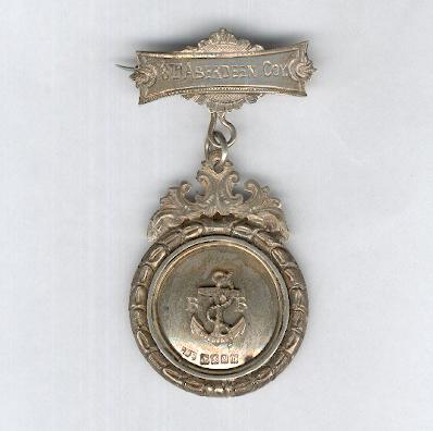Boys' Brigade, The Stephen Company Medal, silver, by John Alexander Fettes, Glasgow, 1924, attributed, 18th Aberdeen Company