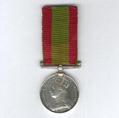 Afghanistan Medal 1878-1880, attributed, 70th (Surrey) Regiment of Foot
