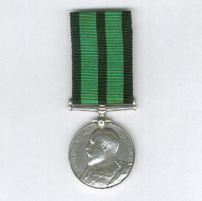 Ashanti Medal 1900, 1st 'High Relief' version, attributed to 864 Sumbuleta, 2nd Battalion, Central Africa Regiment