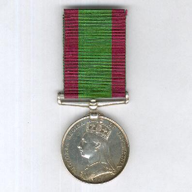 Afghanistan Medal 1878-1880, attributed to 2275 Private Samuel Connell, 2nd Battalion, 7th Regiment of Foot (Royal Fusiliers)