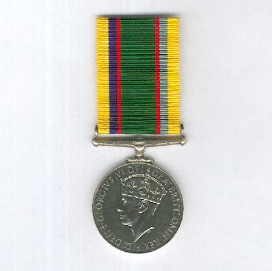 Cadet Forces Medal, George VI issue, 1950-1952, unnamed