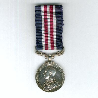 Military Medal, George V, 1916-1930 issue, attributed, Royal Garrison Artillery, also entitled to the Meritorious Service Medal