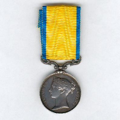 Baltic Medal (Médaille de la Baltique), 1854-1855, unnamed as issued