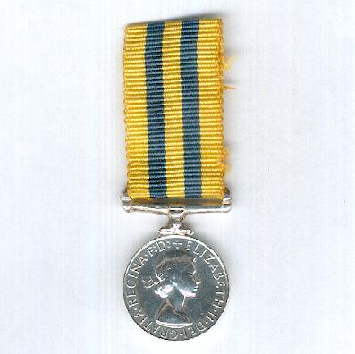 Korea Medal 1950-1953, second type, miniature