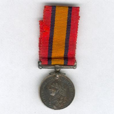 Queen's South Africa Medal 1899-1902, miniature